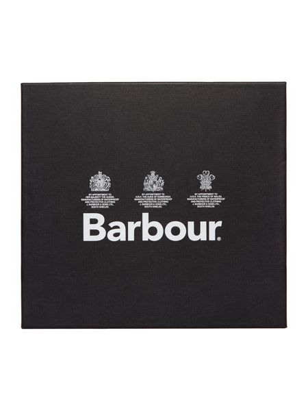 Barbour scarf and glove gift box set