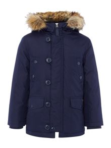 Polo Ralph Lauren Boys Faux Fur Lined Parka
