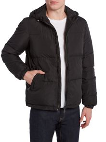 Versace Jeans Hooded down jacket