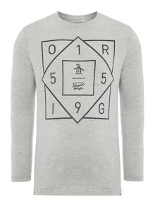 Original Penguin Boys Geo Graphic T-Shirt
