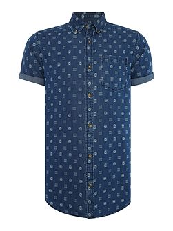 Nico Short Sleeve Denim Shirt
