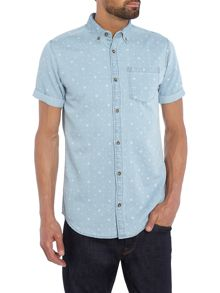Jack & Jones Nico Short Sleeve Denim Shirt