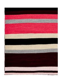 Therapy Heavy knit stripe scarf