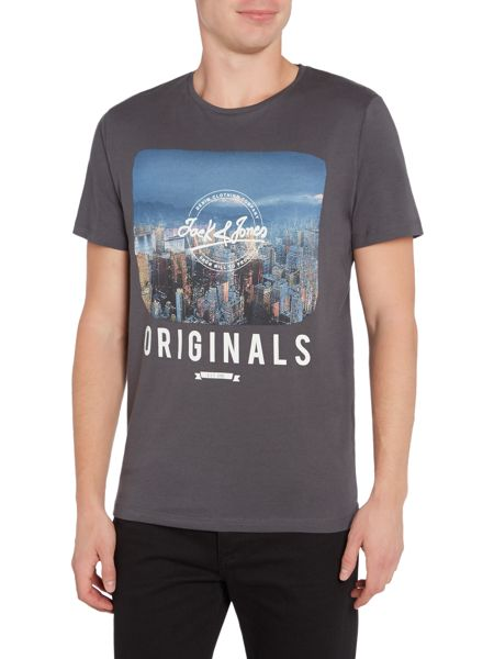 Jack & Jones Jack & Jones Photo Print Short Sleeve T-Shirt