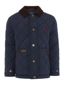 Polo Ralph Lauren Boys Quilted JAcket with Polo Pony Logo