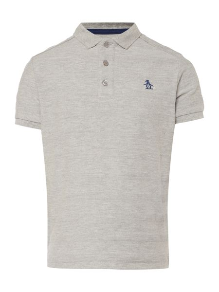 Original Penguin Boys Solid Marl Polo