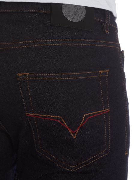 Versace Jeans Slim fit dark wash indigo jeans