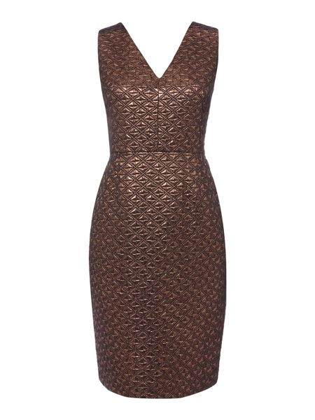 Therapy Hadley Jacquard Bodycon Dress