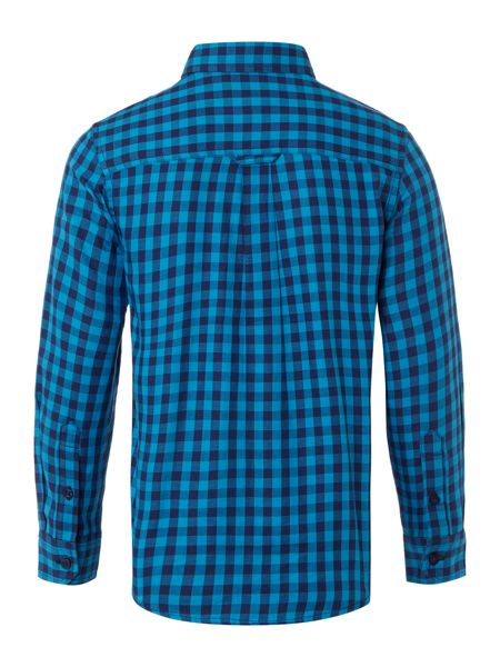 Original Penguin Boys Gingham Check Shirt