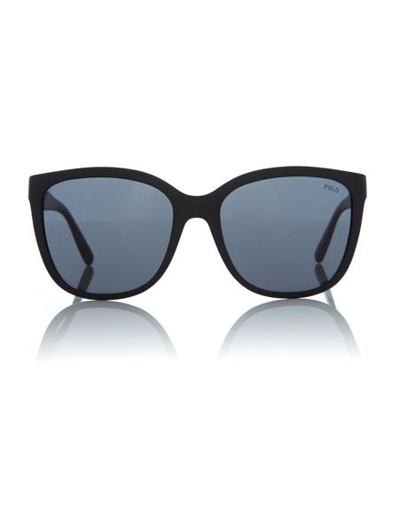 Polo Ralph Lauren Matte Black square PH4114 sunglasses