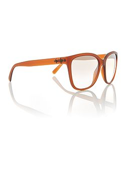Matte brown square PH4114 sunglasses