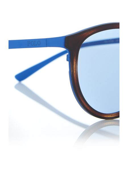 Polo Ralph Lauren Matte Blue phantos PH3104 sunglasses