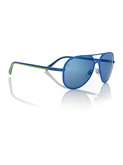 Shiny blue pilot PH3102 sunglasses