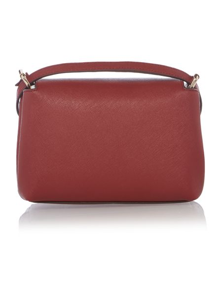 DKNY Saffinao red medium crossbody bag