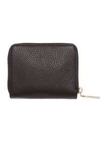 DKNY Chelsea vintage black small ziparound purse