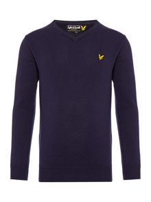Lyle and Scott Boys Classic V Neck Jumper