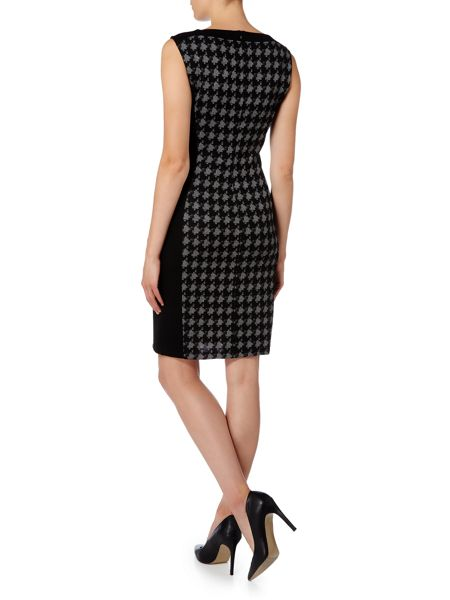 Linea Dogtooth Knitted Dress