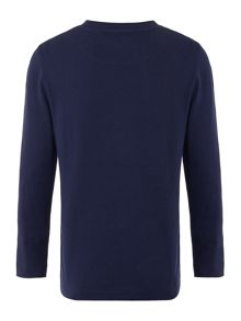 Lyle and Scott Boys Long Sleeve Solid Small Logo T-shirt