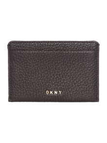 DKNY Chelsea vintage black card holder