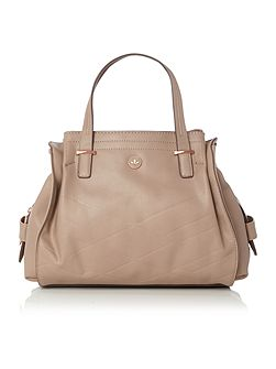 Ava neutral medium tote bag