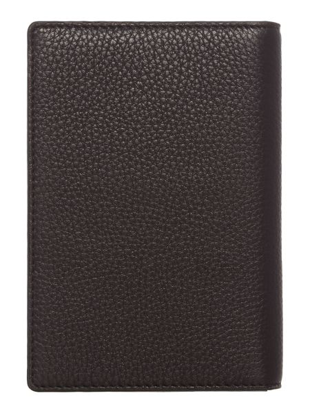 DKNY Chelsea vintage black passport case