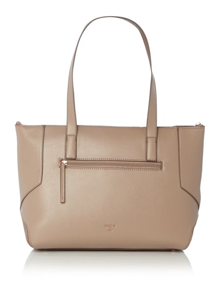 Nica Charlotte neutral medium tote bag