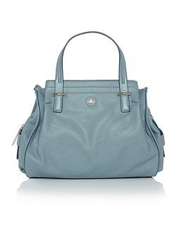 Ava blue medium tote bag
