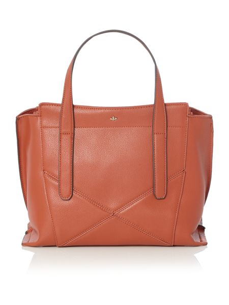Nica Nabi orange med tote bag