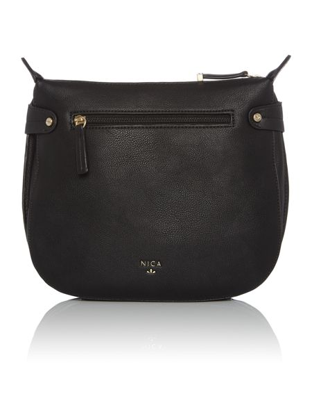 Nica Finn black cross body bag