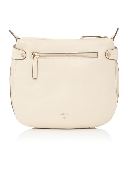 Nica Finn neutral cross body bag