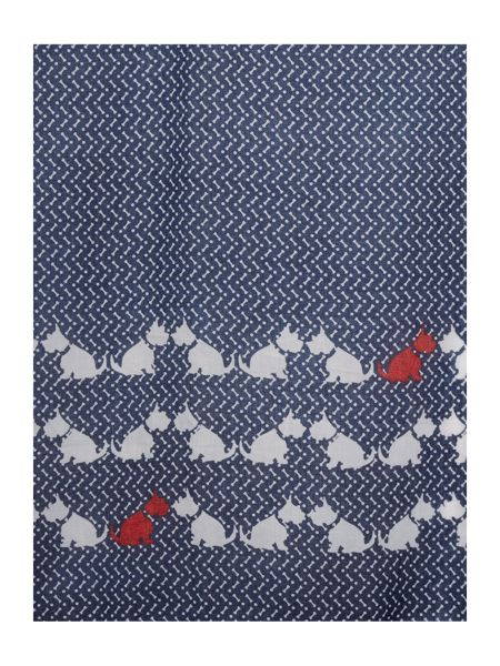 Dickins & Jones Scotty Dog Scarf