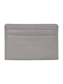DKNY Chelsea vintage grey card holder
