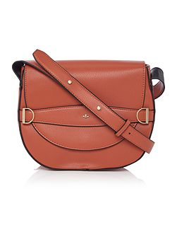 Mila orange cross body bag