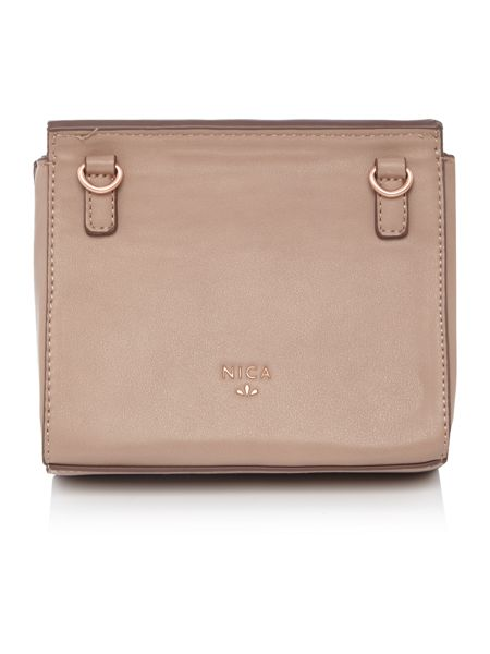 Nica Mina neutral cross body bag