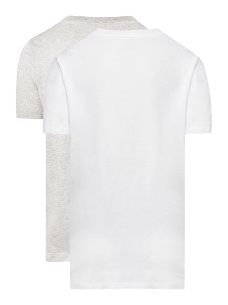 Calvin Klein Boys 2 Pack Small Logo T-Shirts