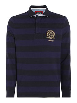 Colenorton Stripe Long Sleeve Rugby Shirt