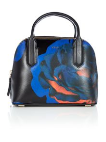 DKNY Cosmic rose multi crosshatch dome bag