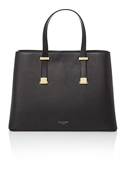 Alissaa black large tote bag