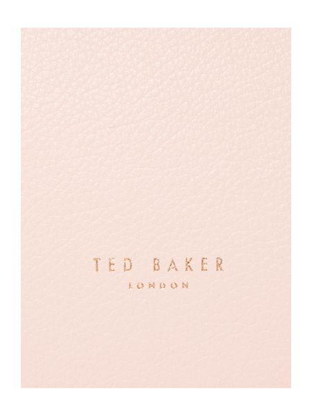 Ted Baker Alissaa light pink large tote bag
