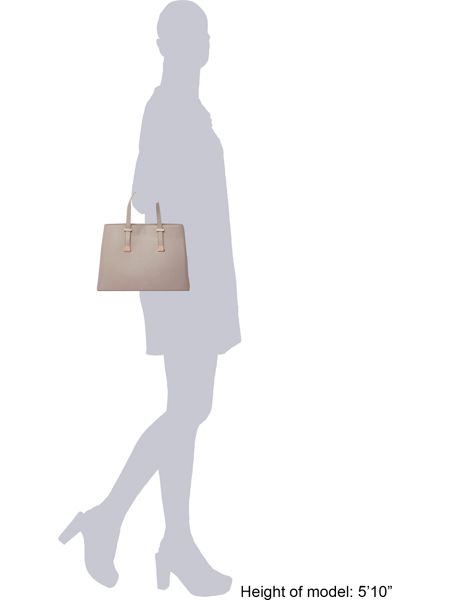 Ted Baker Alissaa taupe large tote bag