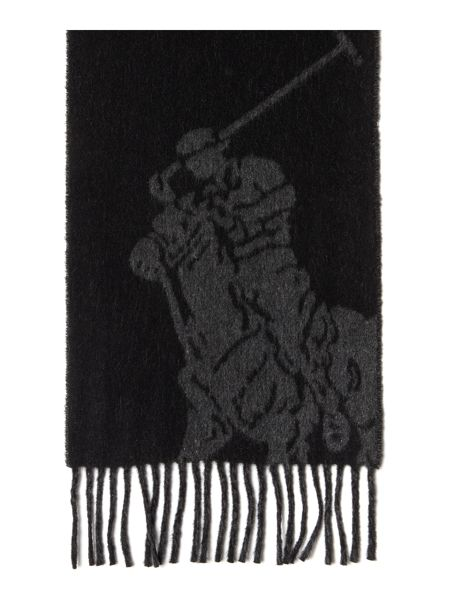 Polo Ralph Lauren Large Pony Print Reversible Scarf