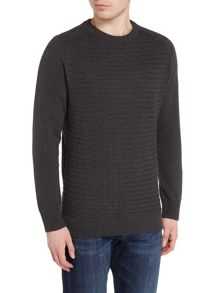 Howick Mabereley Cotton Crew Neck Jumper