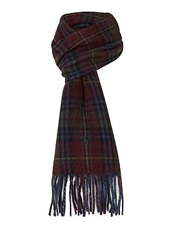 Reversible Driver Plaid Scarf