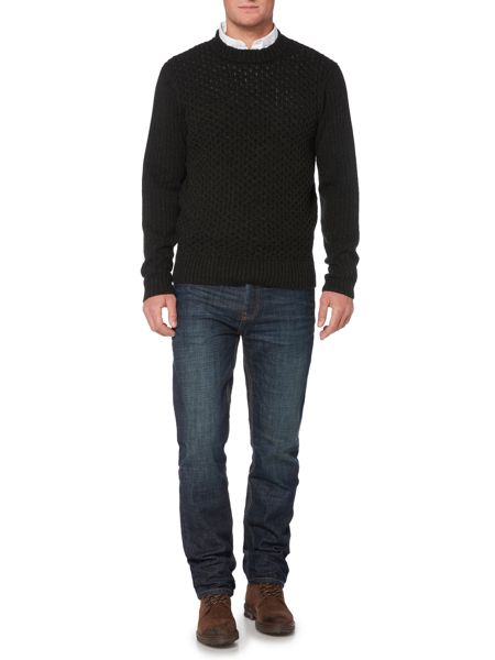 Howick Copper Cable High Crew Neck Jumper