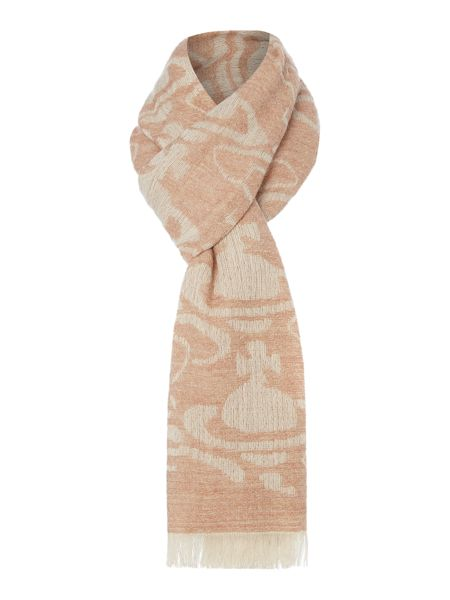 Vivienne Westwood On-off orb logo scarf