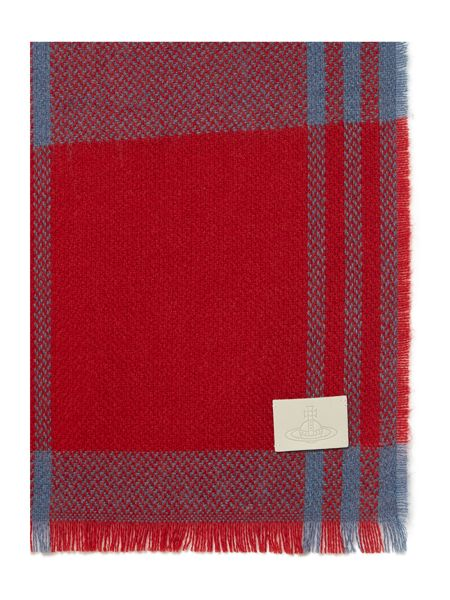 Vivienne Westwood Checked throw