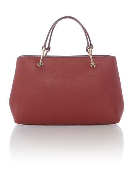 DKNY Soft saffiano small satchel