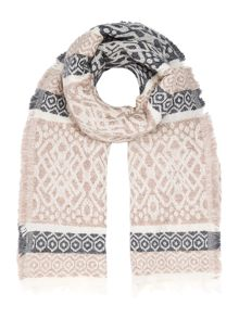 Gray & Willow Jacquard Midweight Scarf