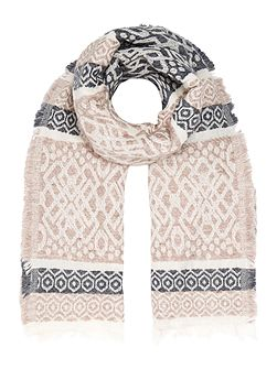 Jacquard Midweight Scarf