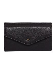 Nica Kayla black large flap over purse